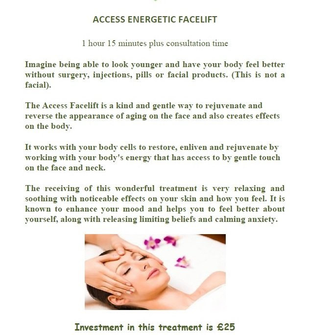 ACCESS FACELIFT FOR WEB SITE